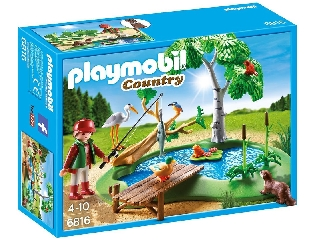 Playmobil - Erdei horgásztó