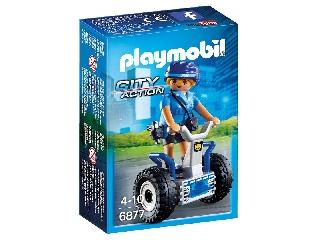 Playmobil - Rendőrnő kétkerekű járgánnyal