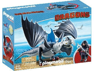 Playmobil - Drákó és Páncélos sárkány levehető sárkánypáncéllal