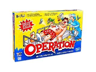 Operációs társasjáték klasszik