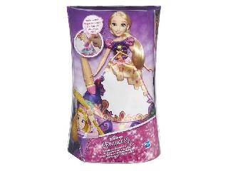Disney hercegnők - Aranyhaj meseszoknyás baba