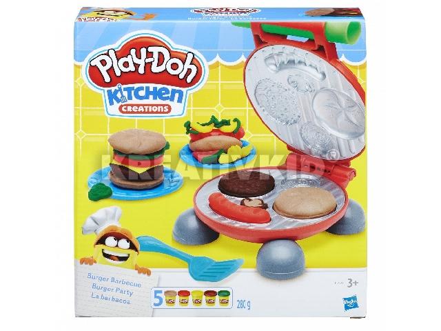Play-Doh - Burger sütöde