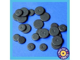 Mágnes korong, 15mm, 36 db