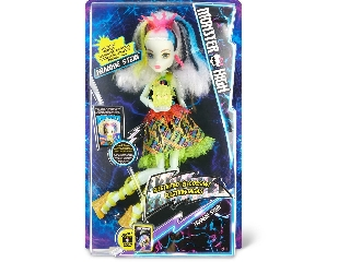 Monster High - Sokkolódva Frankie Stein baba