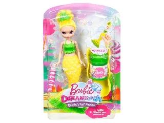 Barbie Dreamtopia buborékfújó mini sellő - citromsárga