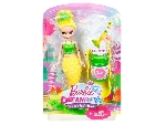 Barbie Dreamtopia buborékfújó mini sellő - citromsárga