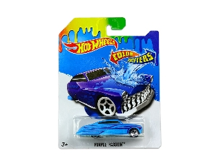 Hot Wheels Színváltós kisautó Purple Passion