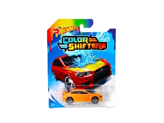 Hot Wheels Színváltós kisautó Mitsubishi Lancer Evolution