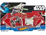 Hot Wheels Star Wars Csillaghajó duo pack Tie fighter vs Ghost