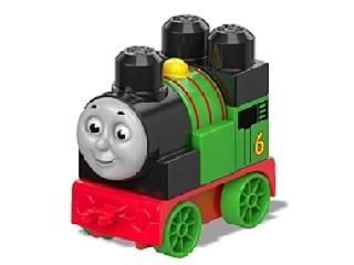 Mega Bloks - Thomas építhető mozdonyok - Percy