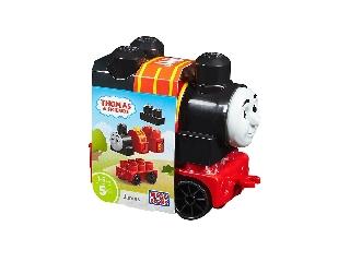 Mega Bloks - Thomas építhető mozdonyok - James