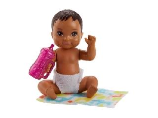 Barbie kisbabák - Barna