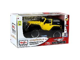1:16 távirányítós Jeep Wrangler Rubicon - sárga