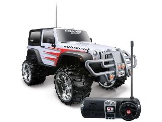 1:16 távirányítós Jeep Wrangler Rubicon - fehér