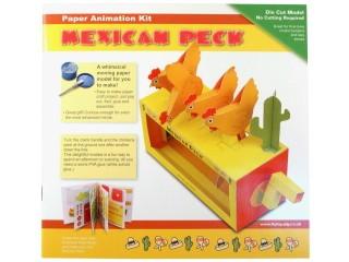 Mozgó papírjáték - Csirkék