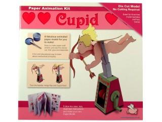 Mozgó papírjáték - Cupidó