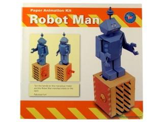 Mozgó papírjáték - Robot