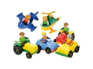Lena: Kis jármű figurával (szortiment)