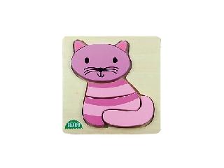 Lena: Fa puzzle - Cica