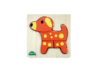 Lena: Fa puzzle - Kutyus