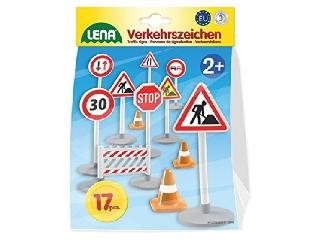Lena - Közlekedési jelzőtáblák szett