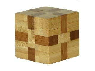 3D Bambusz puzzle -Cube ***