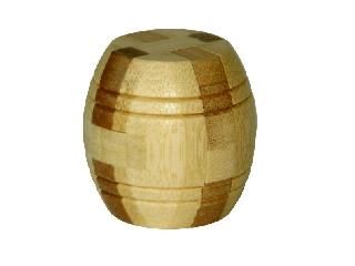 3D Bambusz puzzle - Barrel***