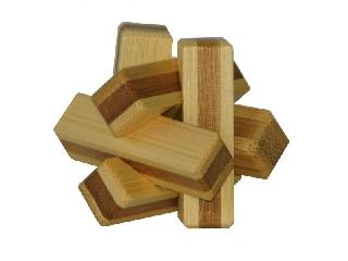 3D Bambusz puzzle - Firewood **