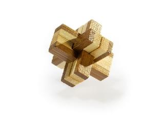 3D Bambusz puzzle - Knotty ***