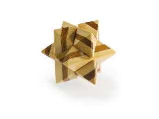 3D Bambusz puzzle - Superstar **