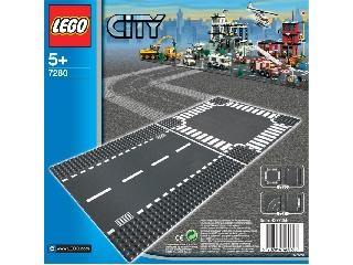 Lego City Egyenes út & kereszteződés 7280