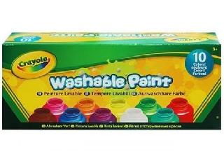 Crayola Lemosható festék szett - 10 db-os
