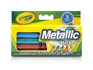 Crayola metálszínű filctoll szett