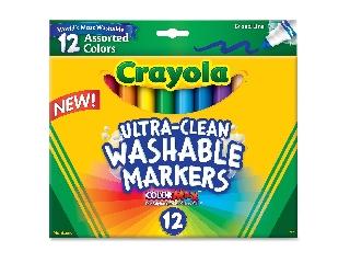 Crayola Extra lemosható vastag filctoll 12 db
