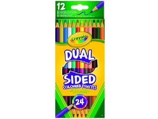 Crayola kétvégű színes ceruzák 12 db-os