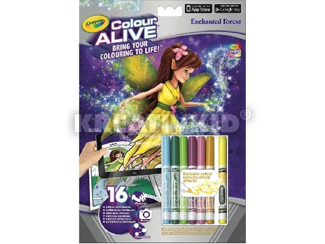 Color Alive Elvarázsolt Erdő interaktív kifestő