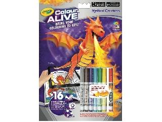 Color Alive Sárkányok és Kastélyok interaktív kifestő