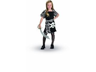 Csinos kalóz lány gyerekjelmez 116 cm-es