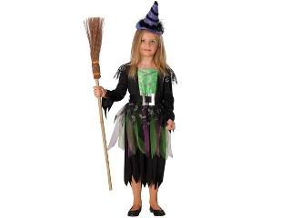 Boszorkány Halloween jelmez 104 cm-es