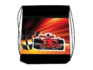 Hálós és zsebes tornazsák - Sport Car Racing - autós