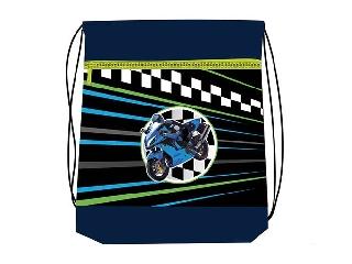 Hálós és zsebes tornazsák - Superbike - motoros