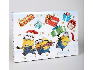 Minion-os adventi naptár
