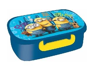 Unipap - Minion uzsonnás doboz - kék
