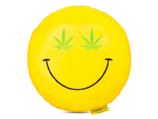 Imoji Cannabis párna (emoji)