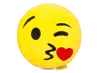 Imoji Csókos párna (emoji)