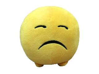 Imoji plüss labda 11cm - szomorú