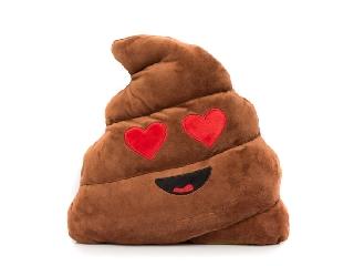 Imoji szerelmes Kaki párna (emoji)