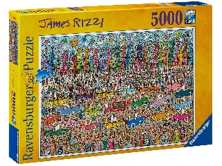 James Rizzi 5000 darabos puzzle