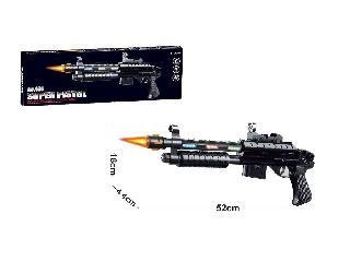 Játék fegyver hanggal és fénnyel