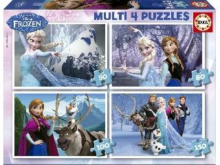 Jégvarázs 4 az 1-ben puzzleszett